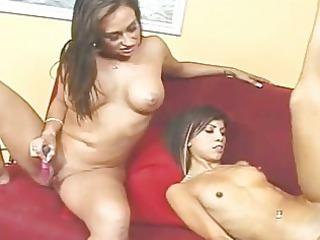 hot mom and slim daughter need a libido