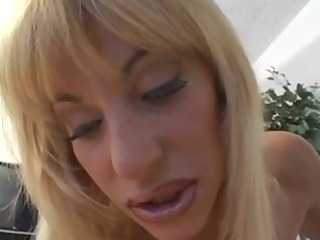 gorgeous youthful chick pleases with her clitoris