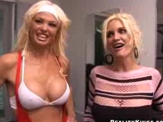 2 super milf s own banged by 1 funny man
