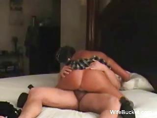 wife in short skirt drives dick