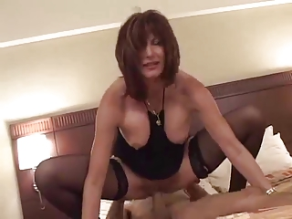 extremely impressive cougar brunette stacy