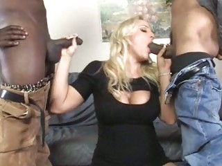 slutty mature babe acquires double fucked by