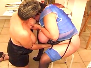 old fat french cougar with big tits