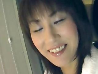 slutty japanese woman blindfolded...
