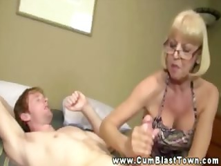 girl enjoys her young studs penis very she can
