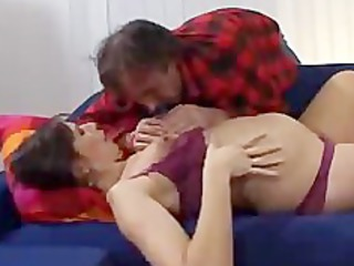 prego housewife bangs fucker of her lover
