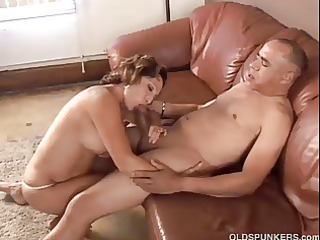 extremely impressive elderly likes to bang and