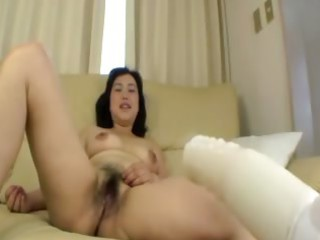 hirsute oriental older takes fingered