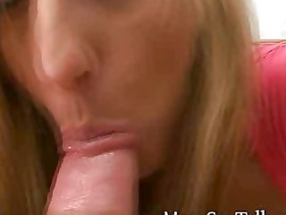 naughty albino lady gives point of view penis