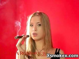desperate rhythmic smoking mature fetish tough