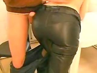 male seduces redhead woman on street