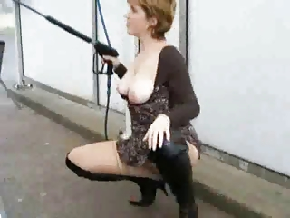 exhibistionist woman
