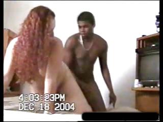 redheaded lady acquires ebony penis - creampie