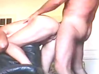 piercing my 53 years chick deep into her anal