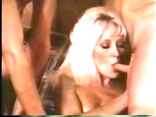 blonde retro milf taken by 2 libidos