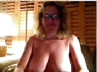 huge bossom &; breast slutty older on cam