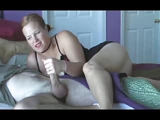 woman wake up handjob