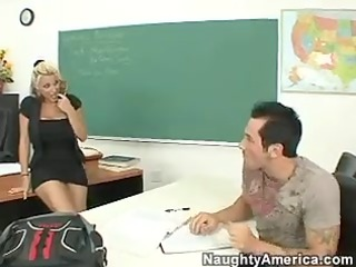 teacher bang - holly halston