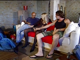 two men fucks boss maiden