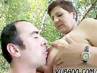 cougar couple outdoor drill