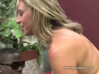 ashen woman prefers large black dick in
