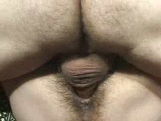 hairy grown-up ugly lady bangs male white cream