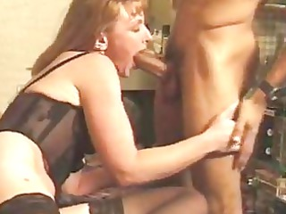 dmm white grown-up girl inside brown cloth