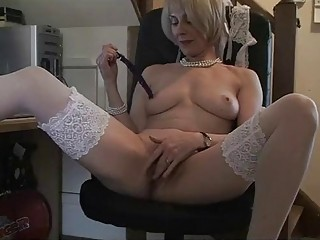 grown-up office pussy banging