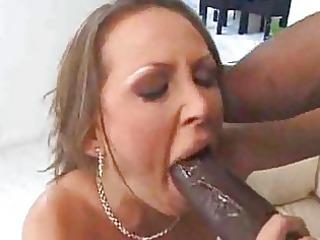 white woman housewife fucks dark man interracial