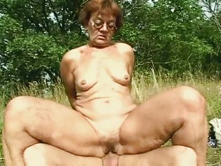 grandma is busty as hell
