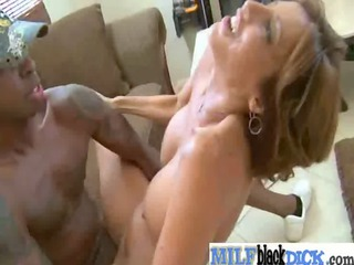 woman acquiring uneasy banged by dark dicks
