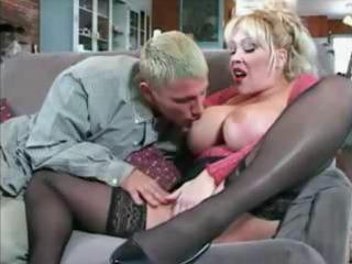 horny lady obtains the dolf boy