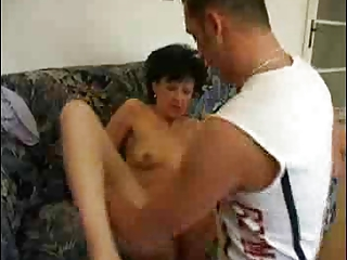 mature brunette banged by troc