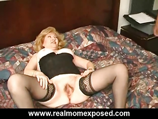 horny cougar drilled difficult at the motel