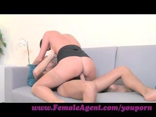 femaleagent. milf with astonishing cowgirl skills