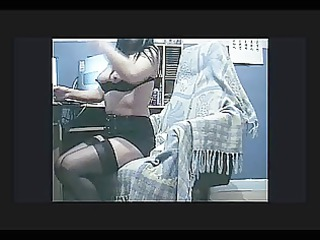 exhibitionist lady films herself