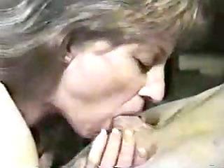 penis sucking from lovely elderly woman.