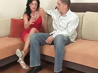 classy cougar chick hoe sucking inexperienced
