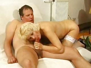 elderly inside ashen underwear