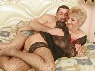 grandma enjoys pretty fuck with her boyfriend