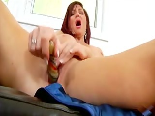 sexxxy mother id like to pierce uses her sex toy