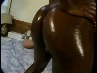 older dark keish has an oily giant bum butt and