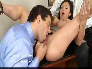 woman lady is the boss and obtains her two