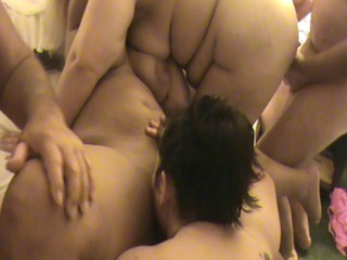 cougar bbw group bang 6