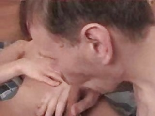 amateur blond twink gets his penis sucked by