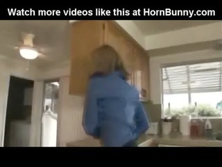 mommy fucked inside the dining room -