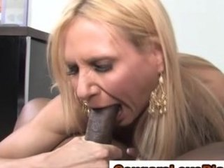 mature mixed whore takes a white cream