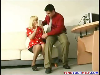 fresh boss play mature secretary
