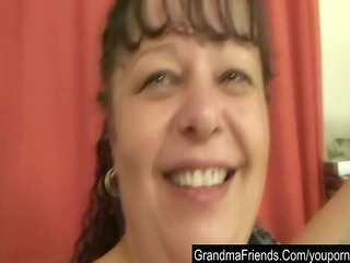 point of view video with chubby older and two