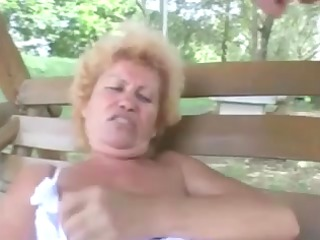 furry granny effie anal outdoor
